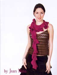Wave Scarf knitting pattern