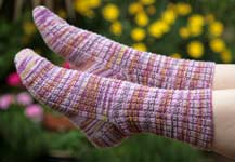 Angel Designs Sock Pattern