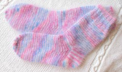 Luxury Angora Socks