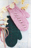 Beaded Cable Mittens-16 left