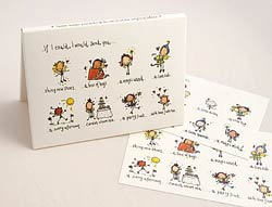 Ickle fairy postcards