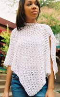 CROCHETED HOODED PONCHO PATTERN | FREE PATTERNS