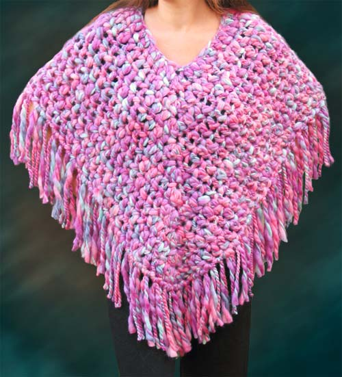 Free Pattern Easy Crochet Poncho : Free Crochet Poncho Patterns Easy Crochet Patterns