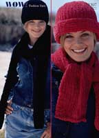 Ladies Hats and Scarves-1 left