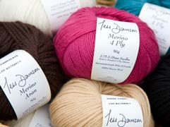 One range of Tess Dawson yarns