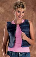 Granito Felted Vest-1 left