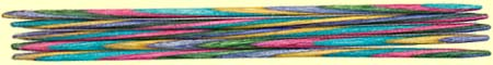 Hand Turned Decorative Double Pointed Knitting Needles by Grafton Fibers