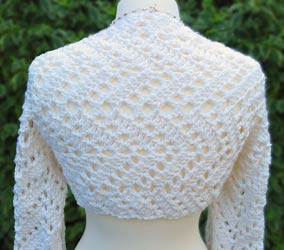 Catherine Wilson: FREE ELEANOR SHRUG PATTERN (crochet)