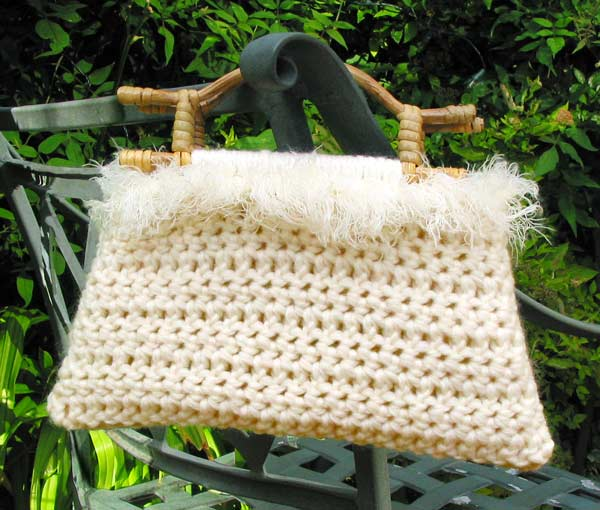 Crochet Net Bag Pattern Free : Free Crochet Bag Patterns Crochet Guild