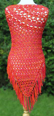 Crocheted Summer Shawl