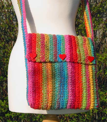 Crochet Patterns Free Bags Easy images
