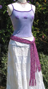 Crocheted Belt