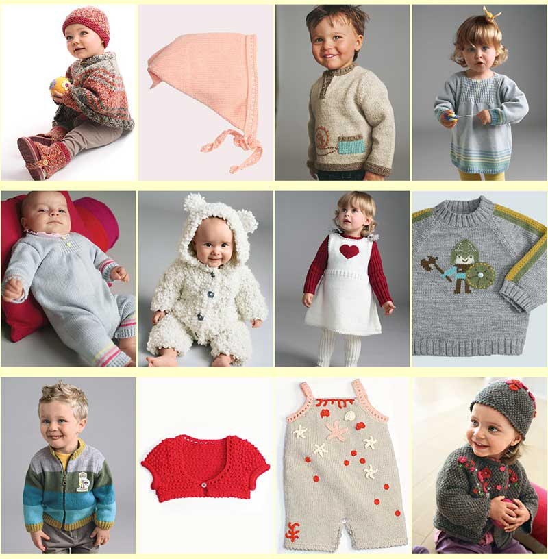 Modern Baby Knitting Patterns – Patterns Gallery
